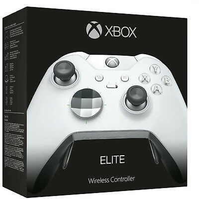 Microsoft Xbox One Elite Wireless Controller - Platinum White - BRAND NEW !!!