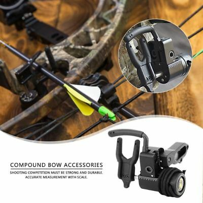 Archery Shooting Bow Drop Away Hunting 150g Black Arrow Rest Alloy Accessories