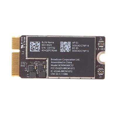 "Wireless-AC BCM94360CS2 Wifi Bluetooth Card For 13"" Macbook Air A1465 MD760 Hot"