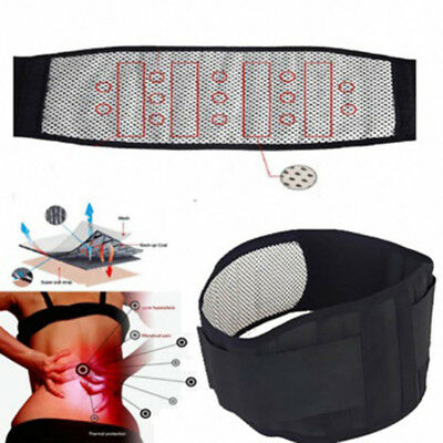 Fatigue Back Waist Support Belt Waist Tourmaline Magnetic Therapy  Self heating