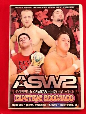 Pro Wrestling Guerrilla Asw2 All Star Weekend 2 Electric Boogaloo Dvd