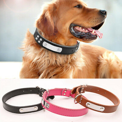Personalised Small Dog Collars Pet Puppy Cat Collar Accessory Tool Kit Gift Hot