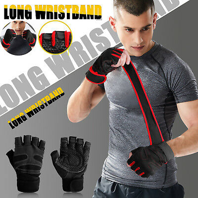 Women Men Gym Gloves With Wrist Wrap Support For Weight Lifting/Workout/Fitness