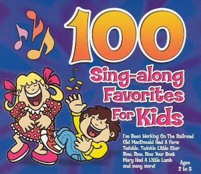 101 Children's Singalong Songs CD | Nursery Rhymes | Kid's Favourites | 2 CD