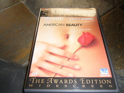 American Beauty (DVD, 2000, Limited Edition Packaging) MINT FLAWLESS