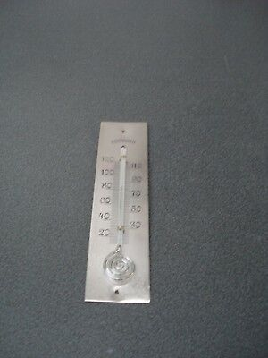 Barometer Thermometer Snail Pigs Tail Type Engraved Silvered Scale Parts Spares