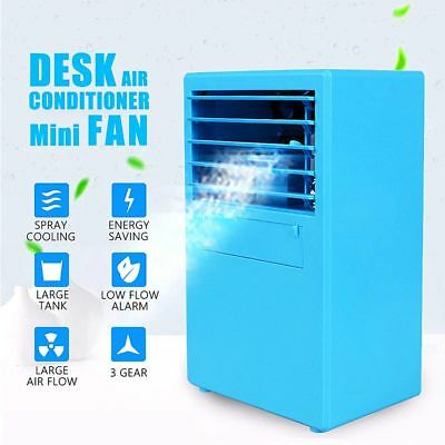 Chiller Cooling Air Cooler Desk FAN Personal Air Conditioner Digital Display