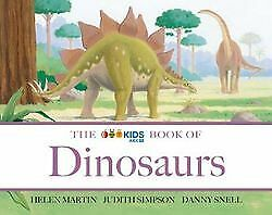 The Abc Kids Book Of Dinosaurs By Helen Martin Brand New Softcover