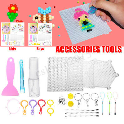 Boy / Girl Accessories For Aqua Refill Water Beads Tools Kit DIY Fuse Art Craft