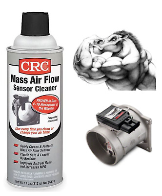 CRC MASS AIR Flow Sensor Cleaner Liquid Spray 05110 MAF 11 Wt Oz  New