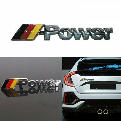 Emblema Stemma M Power Germania per BMW Metallico 3D per F80 F82 F83 F10 F12 F06