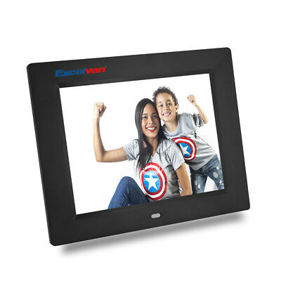 8'' Digital Photo Frame Multifunction Music Video Player USB2.0 Remote Control