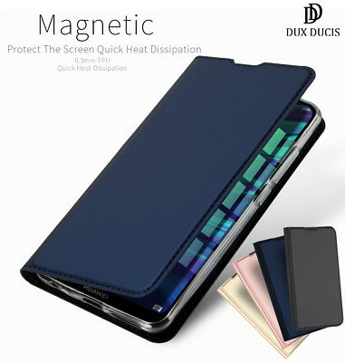DD For Huawei P Smart 2019 PU Leather Flip Case Wallet Smart Magnetic Skin Cover