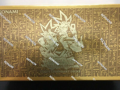 Yugioh 2015 Yugi's Legendary Decks 1st Edition Sealed x1