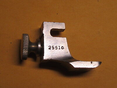Singer 28K Sewing Machine Braiding Foot & Hemmer Adapter Attachment, #25510
