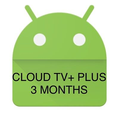 Cloud TV+ PLUS IPTV LIVE TV+VOD Android Firestick Device 3 Months