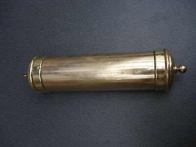 Longcase / Grandfather  Clock Brass Weight Case Parts Spares