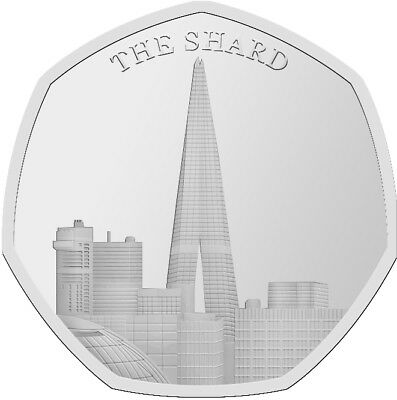 The Shard Like Kew Gardens For 50p Collectors Rare Souvenir Hunt Commemorative