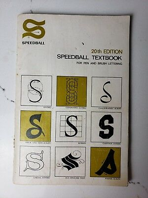 Calligraphy, Pen & Brush Lettering, Speedball Textbook, 20th Edition, Hunt, 1972