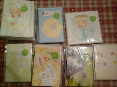 120 Petite Easter Cards, Wholesale Joblot Greeting Cards