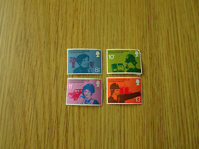 Stamps Gb Telephone Centenary Set Of 4 Mint Mnh 1976   Great Britain