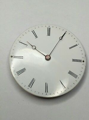 Rare Antoine LeCoultre & Fils Early Pocket Watch Movement with Breguet Hands