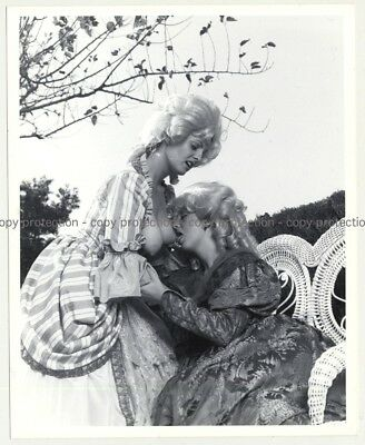 2 Blonde Females In Baroque Costumes / Boobs Out (Vintage Photo Master B/W ~60s/