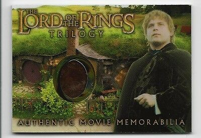 Sam's Elven Tunic Lord of the Rings Trilogy Chrome Movie LOTR Costume Card