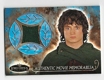Frodo's Travel Cloak Elijah Wood Lord of the Rings Evolution LOTR Costume Card