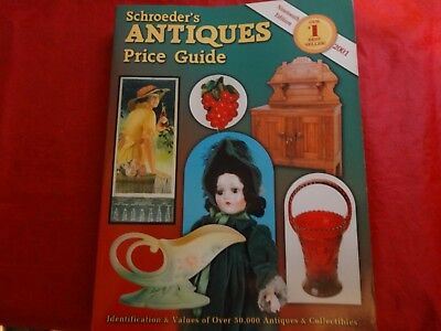 Schroeders Antiques Price Guide (2001, Paperback)