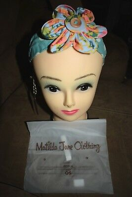 Matilda Jane Once Upon A Time Turret Headband NWT $18 ONE SIZE
