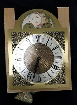 Emperor clock co. Clock face model 101 high palette bridge