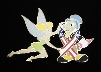 Disney Shopping Tinker Bell Jiminy Cricket Memorial Day LE Pin