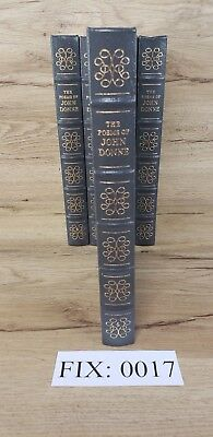 Easton Press: The Poems of John Donne by John Donne, Collector's Edition :F17