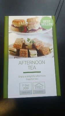 Afternoon Tea For 2 Gift Experience