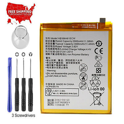 For HuaWei P10 lite New Original HB366481ECW Battery Replacement 3000mAh OEM