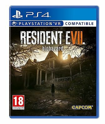 Resident Evil VII 7 Biohazard PS4 Game VR Compatible NEW & SEALED Fast Dispatch