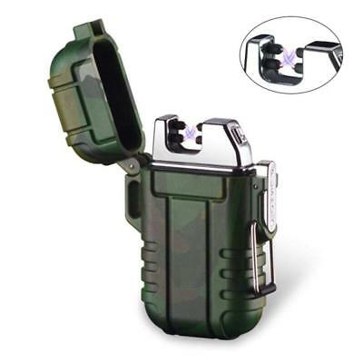 KOBWA Flameless Outdoor Camping Dual Arc Lighter, Portable Windproof...