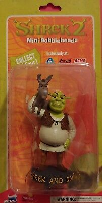 SHREK & DONKEY (from SHREK 2) Mini Bobblehead by Dreamworks