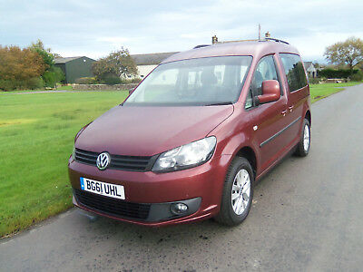 VOLKSWAGEN CADDY LIFE SIRUS DRIVE FROM WHEELCHAIR CONVERSION 1.6 Tdi DSG AUTO
