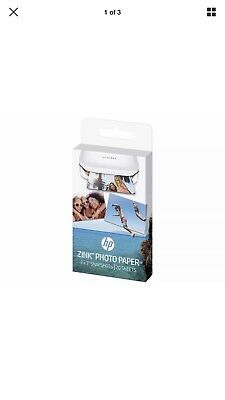 HP ZINK 50 x 76 mm Photo Paper for HP Sprocket - 20 Sheets - Currys