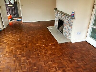 Reclaimed parquet flooring (100 pieces). 15.6m2 Left On 10/5