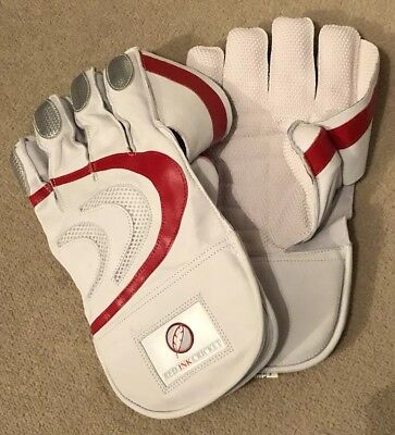 Red Ink Cricket Wicket Keeping  Gloves- Men's. Brand New