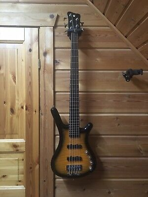 Warwick Corvette Classic 5 String Bass Active RB Flamed Maple 3,8kg LeightWeight