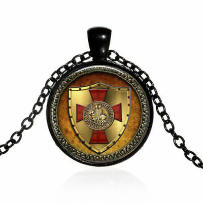 CROSS TEMPLAR CRUSADERS KNIGHTS CHRISTIAN Pendant Necklace C#