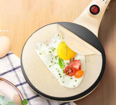 Electric Crepe Maker Pancake Machine Griddle Hot Plate Cook top Kitchen Nonstick