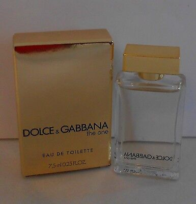 f579d0bc87b35 MINIATURE DE PARFUM Dolce   gabbana the one EDT 7