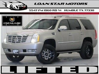 2007 Escalade 6.2L Vortec V8 Lifted Leather Sunroof 3Rd --