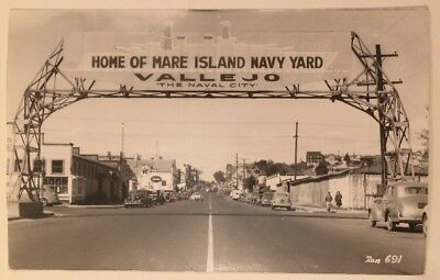 Home Of Mare Island Navy Yard Vallejo Calif California RPPC