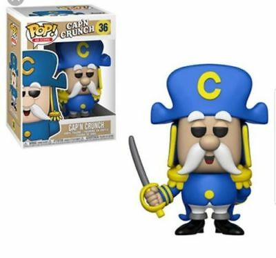 Funko Pop Ad Icons #36 Captain Cap'n Crunch with Sword w/ Protector in stock!